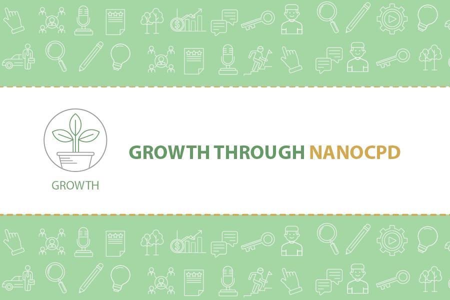 Growth through NanoCPD